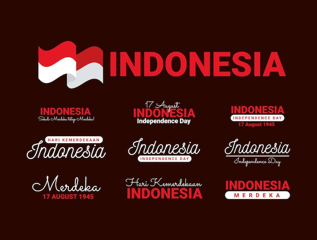 Phrases d'indépendance de l'indonésie