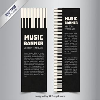 Piano bannières