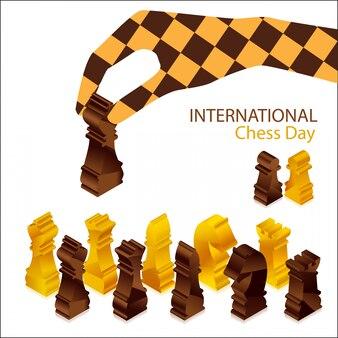 Pièce de jeu d'échecs