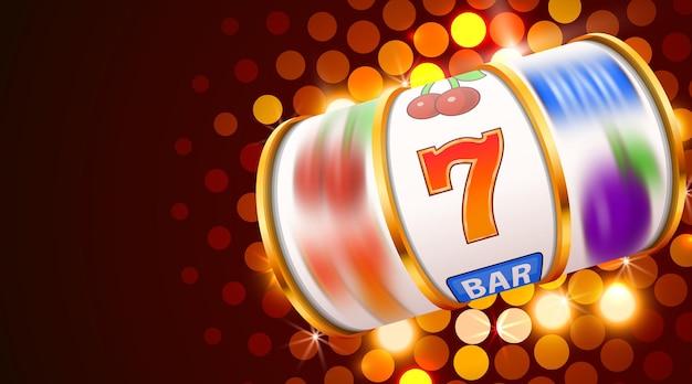Les pièces des machines à sous remportent le jackpot. 777 grand casino gagnant