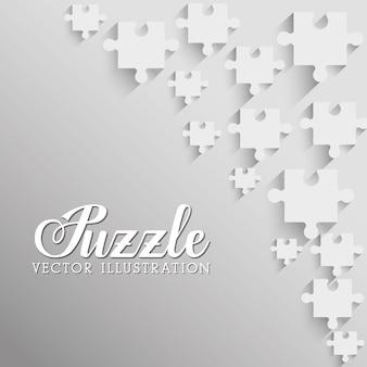 Pièces de puzzle et grandes idées