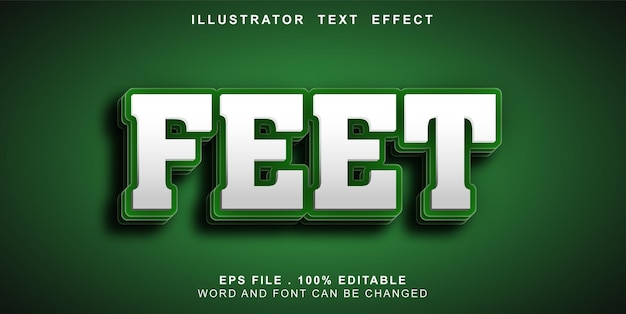 Pieds modifiables tex teffect
