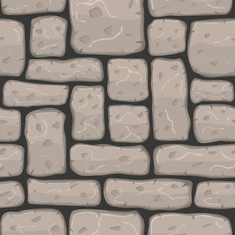 Pierre bande dessinée seamless texture vector illustration
