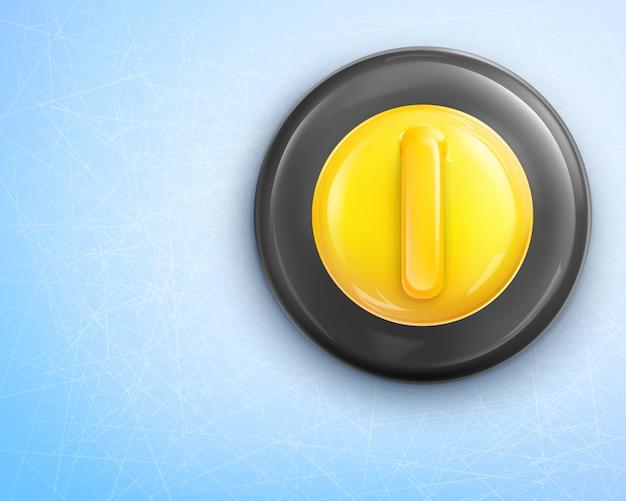 Pierre de curling de granit sur la glace