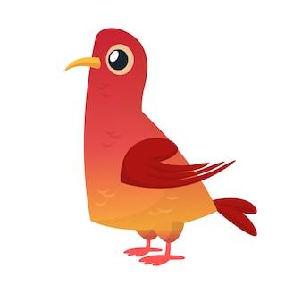 Pigeon de dessin animé