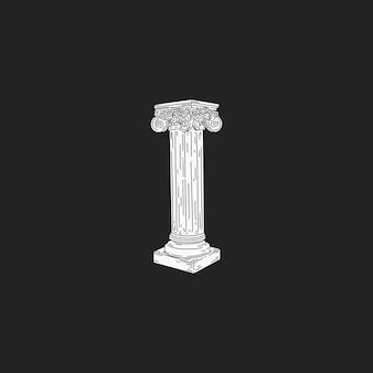 Le pilier romain
