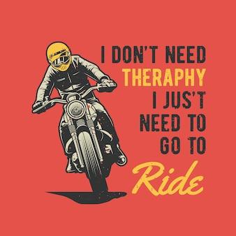Pilote de moto vintage dessiné à la main avec effet grunge et fond d'éclat d'étoile