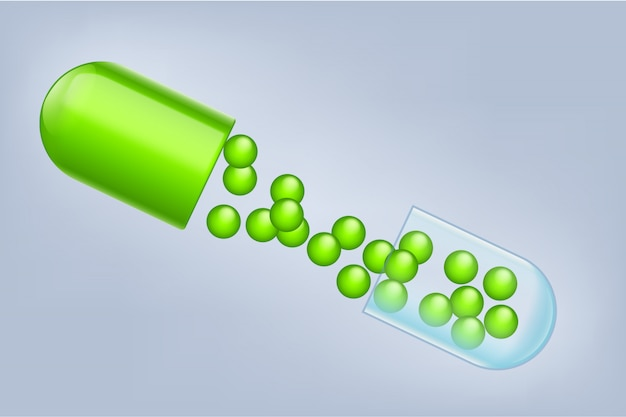 Pilule ouverte