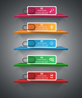 Pin business infographique