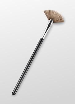 Pinceau surligneur de maquillage professionnel propre