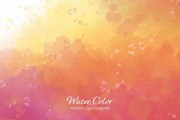 Pinceaux de fond abstrait couleur de l'eau