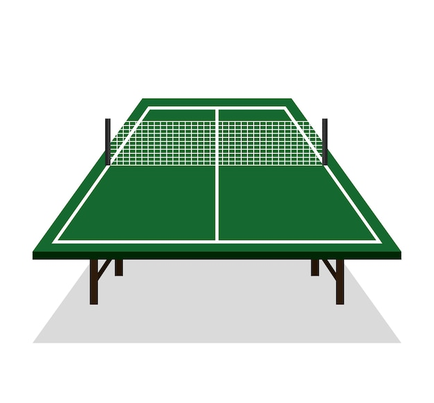 Ping pong table icône vector illustration design