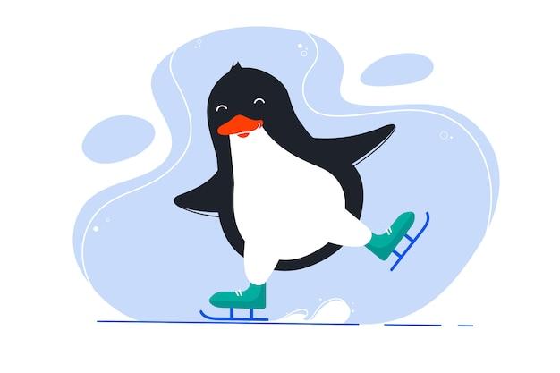 Pingouin drôle
