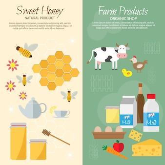 Pique-nique d'abeilles d'été sur miel de prairie, abeille, rucher.