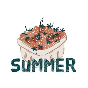 Pique-nique d'été fruits, baies, gâteau, hot-dog, sandwich, barbecue, café, crème glacée, tarte. vue de dessus. icon set design plat d'articles de pique-nique. pour les bannières, affiches, promotion, modèles de présentation