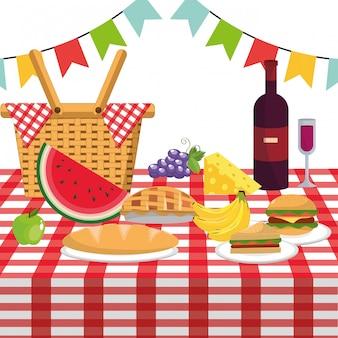 Pique-nique et nourriture