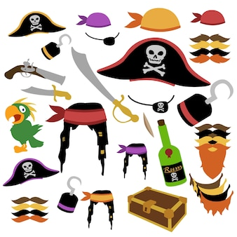 Pirate aventure clipart