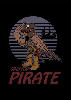 Pirate moineau