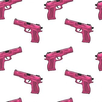 Pistolet, arme à feu de protection