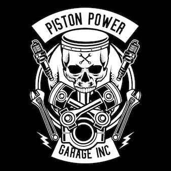 Piston power