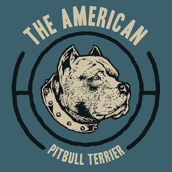 Pitbull américain terrier
