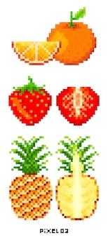 Pixel art.