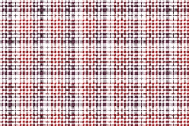 Pixel tissu texture vérifier modèle sans couture de nappe à carreaux