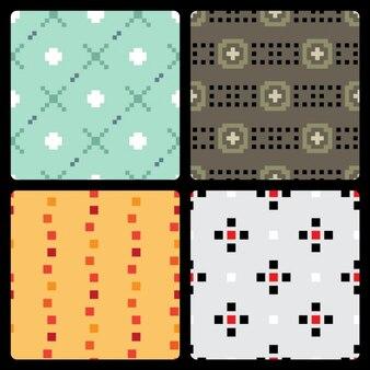 Pixélisé set pattern