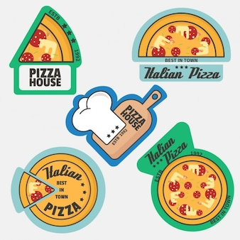 Pizza collection logo