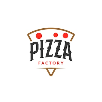 Pizza logo design boulangerie