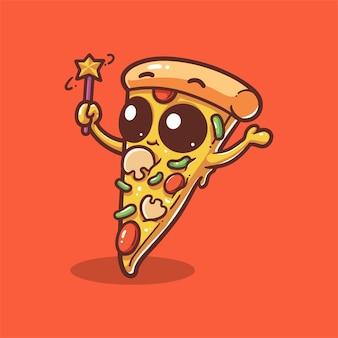 Pizza de magicien