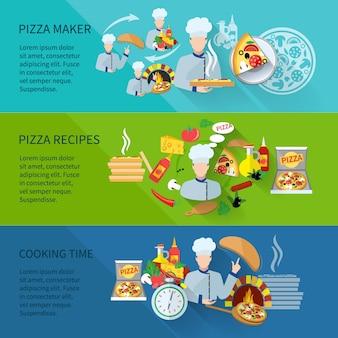 Pizza maker bannière