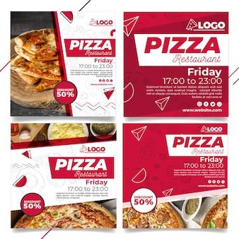 Pizza restaurant instagram posts