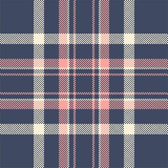 Plaid modèle sans couture moderne. textile écossais tartan.