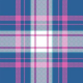 Plaid de modèle sans couture moderne. tissu à texture carrée. textile écossais tartan. ornement de madras de couleur de beauté.