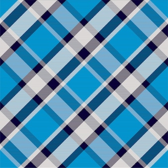 Plaid motif géométrique sans soudure