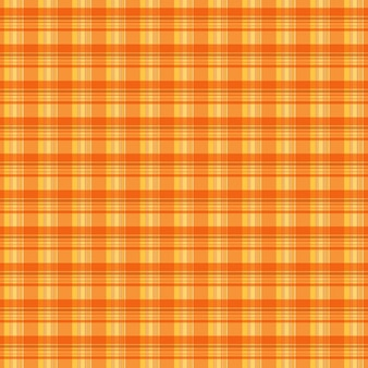 Plaid orange texture de fond
