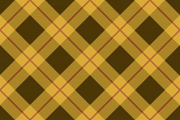 Plaid de tartan sans soudure, illustration vectorielle. répétable horizontalement et verticalement.