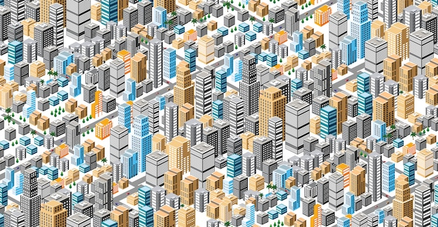 Plan d'urbanisme homogène