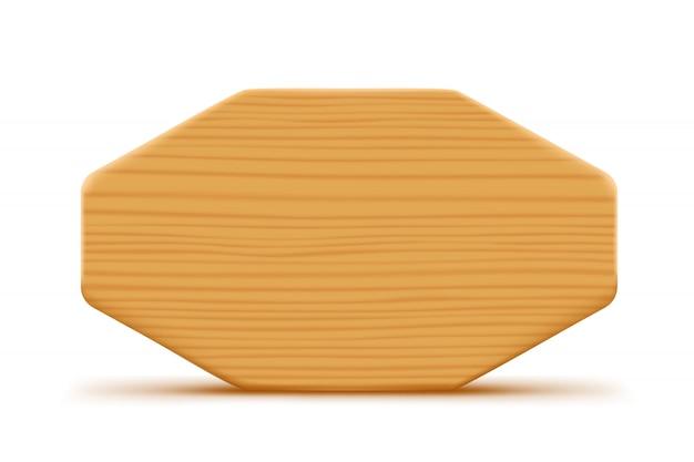 Planche de bois blanc