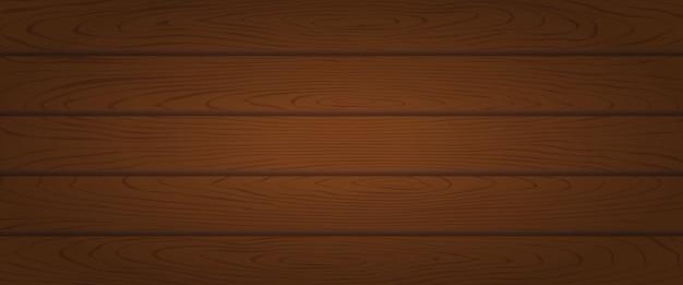 Planche de bois de chêne brun texturé