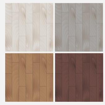 Planche de parquet. stratifié. illustration vectorielle de bois texture fond