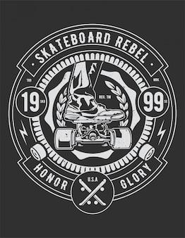 Planche à roulettes rebelle