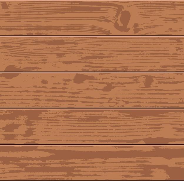 Plancher ou surface de plancher en bois brun