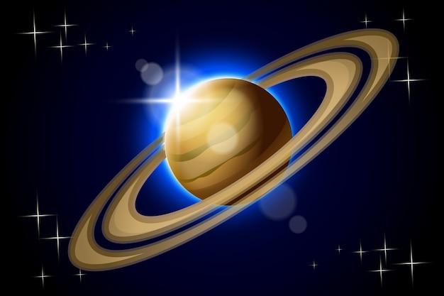 Planète saturne