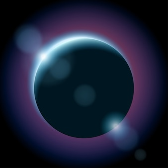 Planète sombre