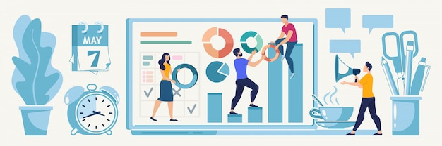 Planification du concept de vecteur de stratégie de démarrage en ligne