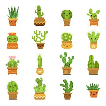 Plantes du désert mignonnes