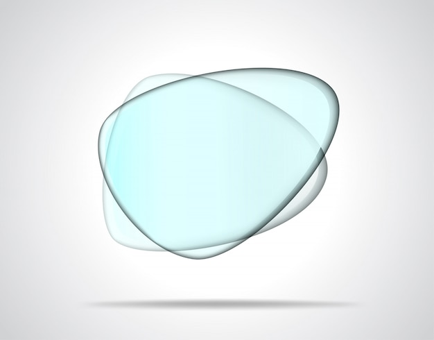 Plaques de verre lisses