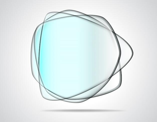 Plaques de verre transparentes